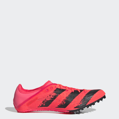 Men Track & Field Pink Sprintstar Spikes
