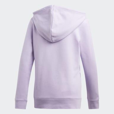 Sudadera Trifolio Violeta Mujer Originals