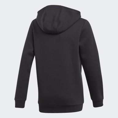 Youth Originals Black Adicolor 3D Trefoil Hoodie