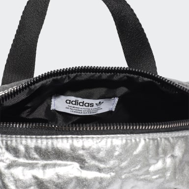 Women Originals Silver Mini Duffel Bag