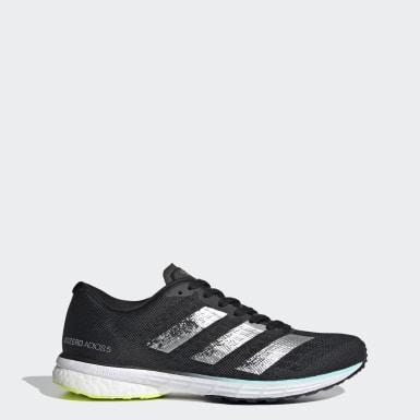Women Running Black Adizero Adios 5 Shoes