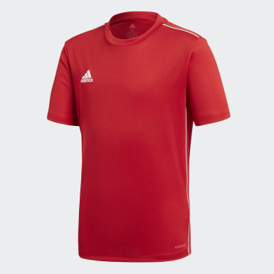 Youth 8-16 Years Training Red Core 18 Training Jersey