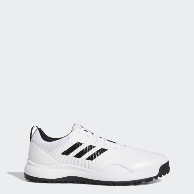 Men's Golf White CP Traxion Spikeless Shoes