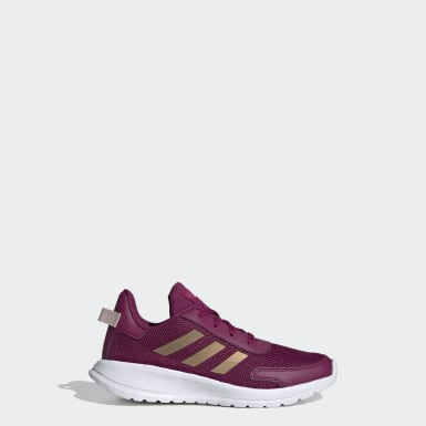 Kids Running Burgundy Tensor Shoes