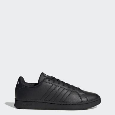 Sport Inspired สีดำ รองเท้า Grand Court