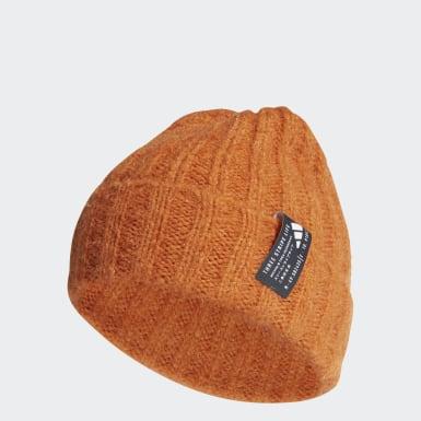 оранжевый Шапка Hairy