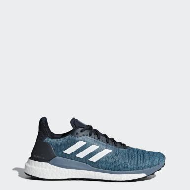 Tenis Solar Glide Azul Hombre Running