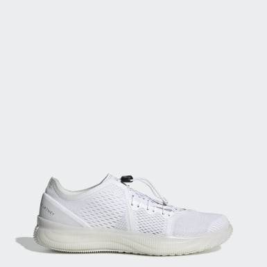 Women's adidas by Stella McCartney White Pureboost Trainer Shoes