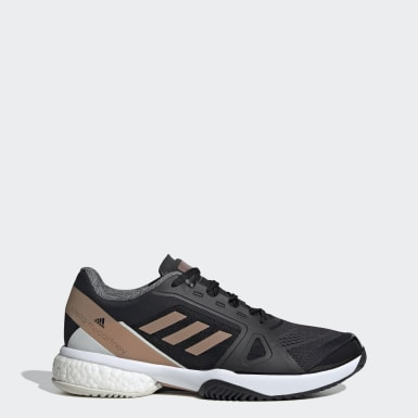 Women's Tennis Black adidas by Stella McCartney Barricade Boost Shoes