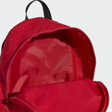เด็ก เทรนนิง สีแดง กระเป๋าเป้ทรงคลาสสิก