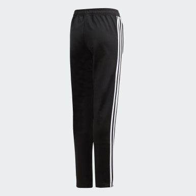Youth 8-16 Years Training Black Tiro 19 Polyester Tracksuit Bottoms