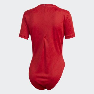 Body Rosso Donna Originals