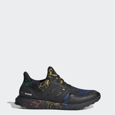 Men Running Black Ultraboost DNA x Disney Shoes