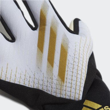 Football White X 20 League Goalkeeper Gloves