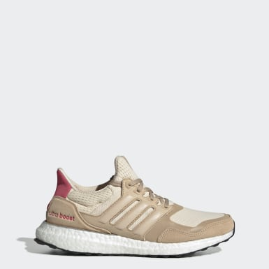 Women Running Beige Ultraboost S&L Shoes