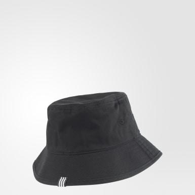 Originals สีดำ หมวกปีก Adicolor