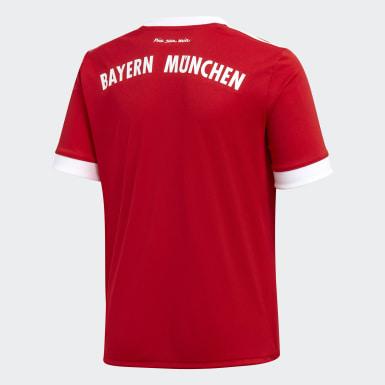 Jersey de Local FC Bayern Múnich Réplica (UNISEX) Rojo Niño Fútbol