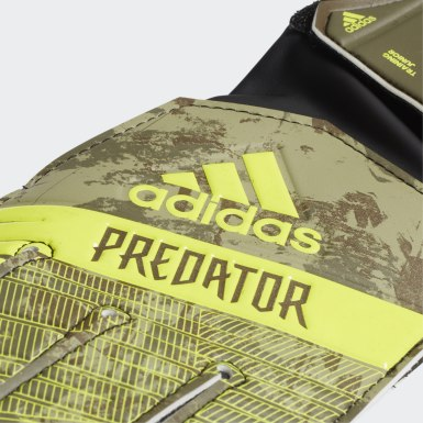 Luvas Predator Training Junior Verde Kids Futebol