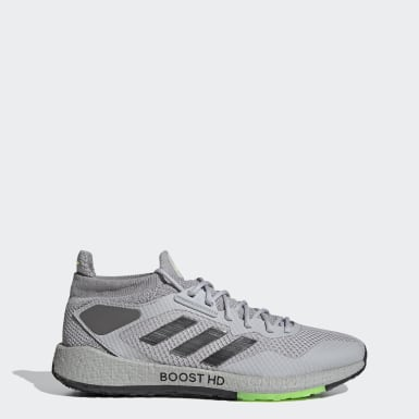 Men Running Grey Pulseboost HD Shoes