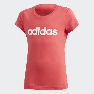 Koszulka Essentials Linear Różowy
