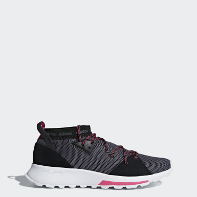 Women Running Black Quesa Shoes