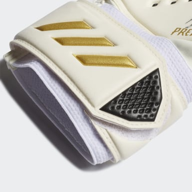 Football White Predator 20 Match Gloves