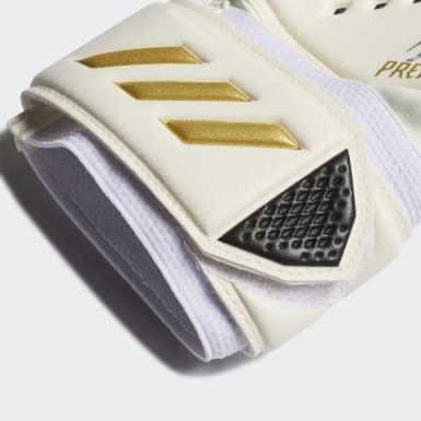 Football White Predator 20 Match Goalkeeper Gloves