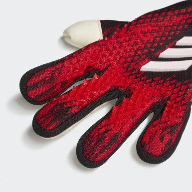 Deti Futbal čierna Rukavice Predator 20 Pro