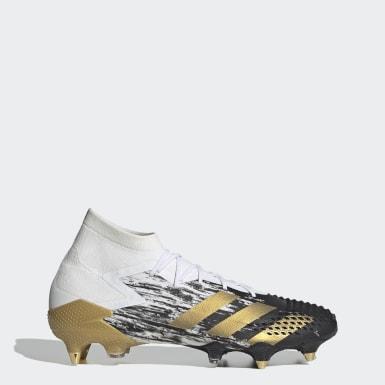 Fodbold Hvid Predator Mutator 20.1 Soft Ground støvler