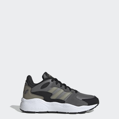 Chaussure Crazychaos Gris Enfants Running