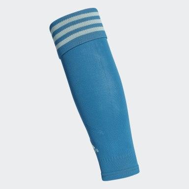 синий Футбольные гетры TEAM