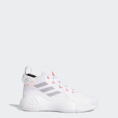 Kinder Basketball D Rose 773 2020 Schuh Weiß