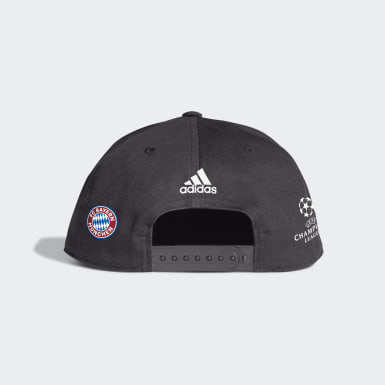 Football Black FC Bayern UCL Winner Cap