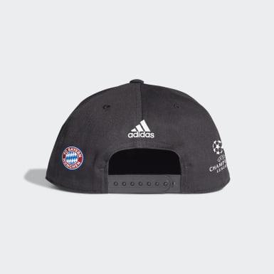 Fodbold Sort FC Bayern UCL Winner kasket