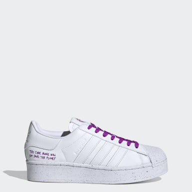 Kvinder Originals Hvid Superstar Bold sko