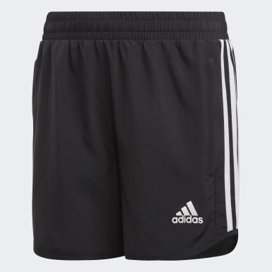 Girls Training Black Equipment Shorts