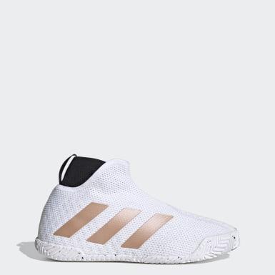 Sapatos de Ténis Sem Atacadores Stycon – Piso Duro Branco Mulher Ténis