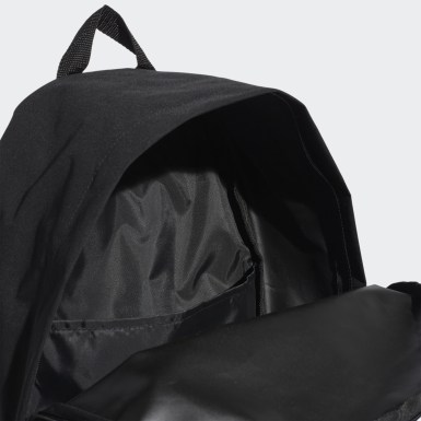 Training Black Classic Twill Fabric Backpack