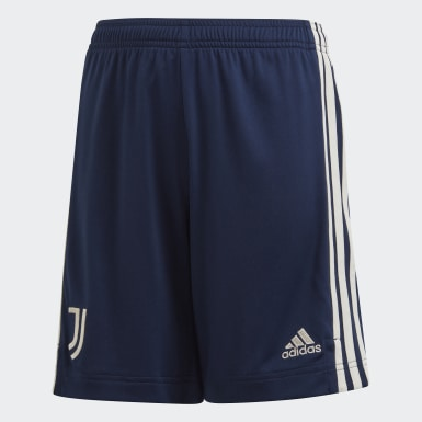 Youth 8-16 Years Football Blue Juventus 20/21 Away Shorts