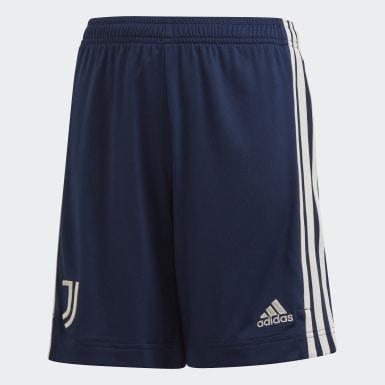 Short Juventus 20/21 Extérieur Bleu Enfants Football