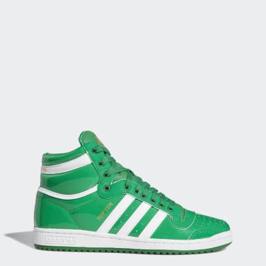 Men's Originals Green Top Ten Hi Shoes
