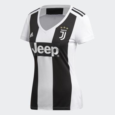 Dam Fotboll Vit Juventus Hemmatröja