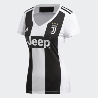 Women Football White Juventus Home Jersey