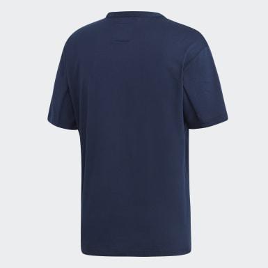 Erkek Originals Mavi Kaval Tişört