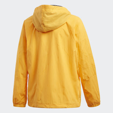 Boys Lifestyle Yellow adidas W.N.D. Primeblue Jacket