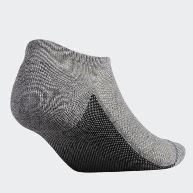 Men's Training Grey Superlite Stripe 2 No-Show Socks 3 Pairs