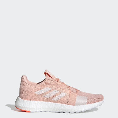 Women's Running Pink Senseboost Go Shoes