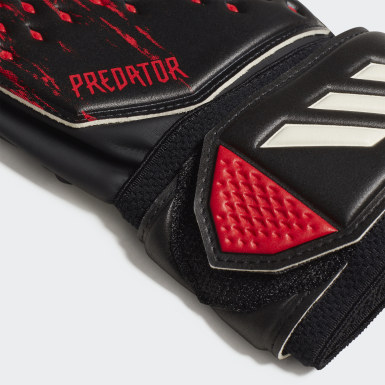 Fußball Predator 20 Match Torwarthandschuhe Schwarz
