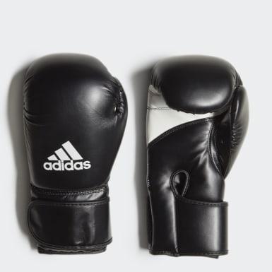 Box čierna Boxerské rukavice Kpower 100