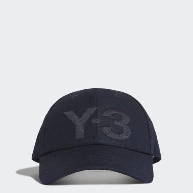 Y-3 Y-3 Logo Kappe Blau